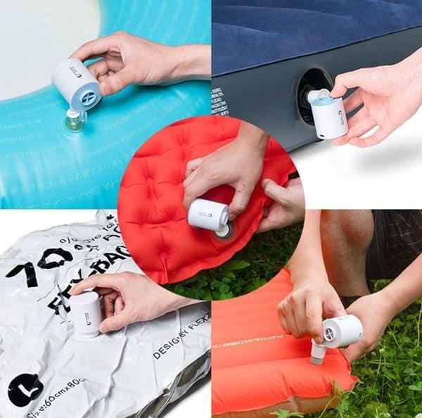 Компактный насос для надувных вещей