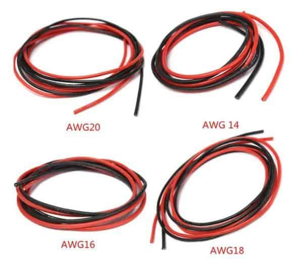 Многопроволочные провода в силиконовой изоляции